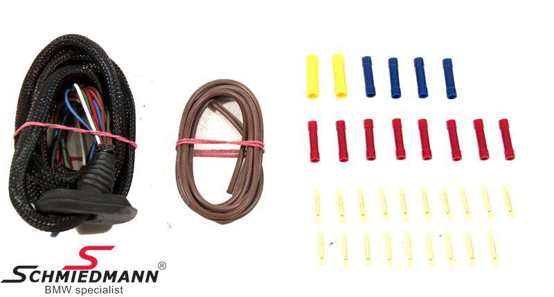 Schmiedmann bagklaps lednings-reparations-sæt V.-side, hurtig og nem reparation
