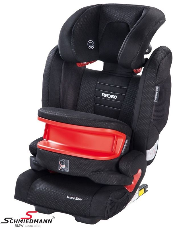 Child seat original Recaro -Monza Nova IS- Black, 9-36kg. incl. impact shield (with Isofix)