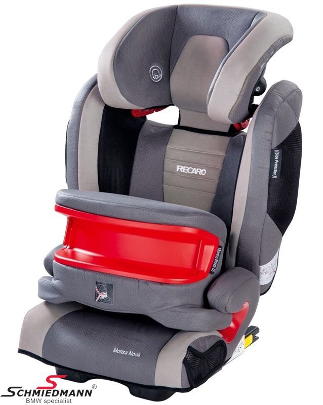 Child seat original Recaro -Monza Nova IS- Shadow, 9-36kg. incl. impact shield (with Isofix)