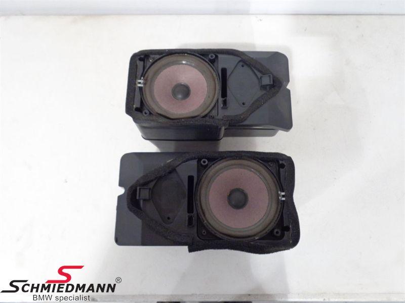 BMW Subwoofer set to Hi-fi System