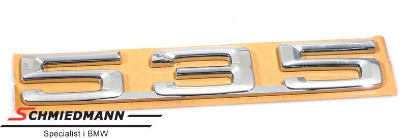 """Emblem trunk lid """"535"""""""