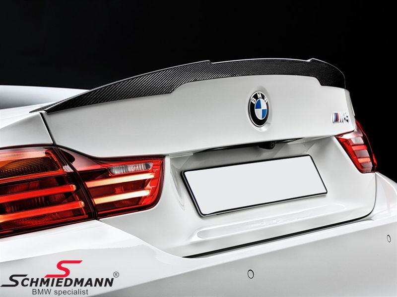 Rear spoiler lip -BMW ///M Performance- genuine carbon original BMW