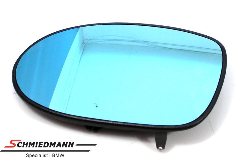 Sidespejl-glas med varme/tonet plant H.-side