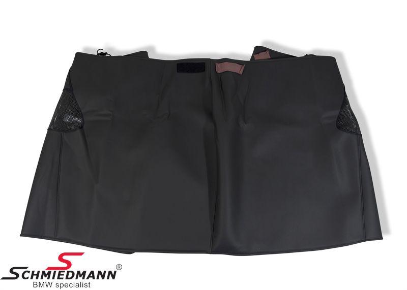 Front/skærmskånebetræk grå universal, emitteret læder - flot kvalitet