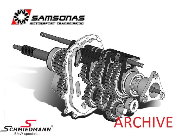 Samsonas Motorsport sequential gearbox