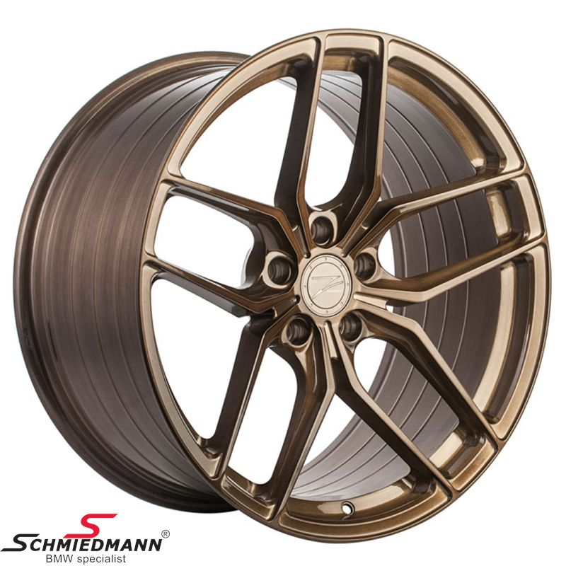 "19"" Z-Performance FlowForged (smedet) -Type ZP2.1- fælg 8,5X19 ET35, Liquid Bronze"