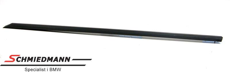 Takaoven musta suojalista - oikea
