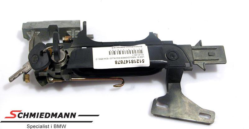 Doorlock/handle with key R.-side