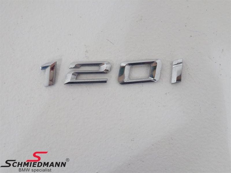"""Emblem trunk lid """"120I"""""""