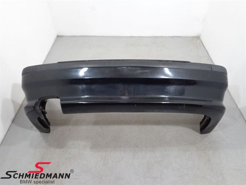 Rear bumper with AC Schnitzer shell