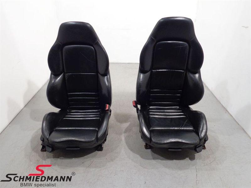 M3 Evo Sport Front Leather Seats set 2pcs 2/4Door