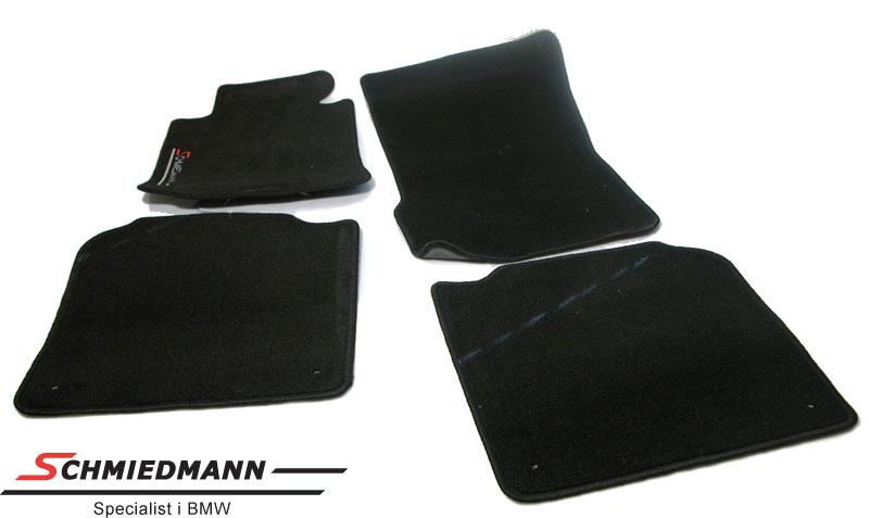 BMW E38 Fussmatten vorne/hinten original Schmiedmann Schwarz