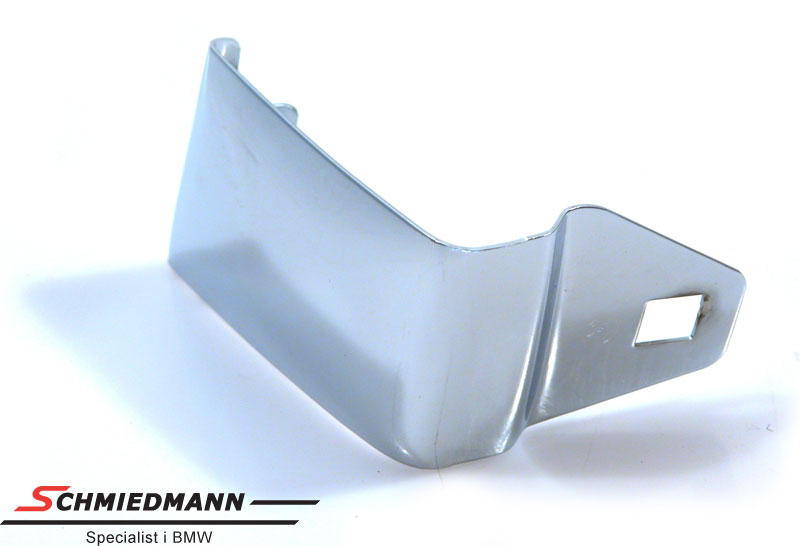 Frontbumper edge covering chrom R.-side