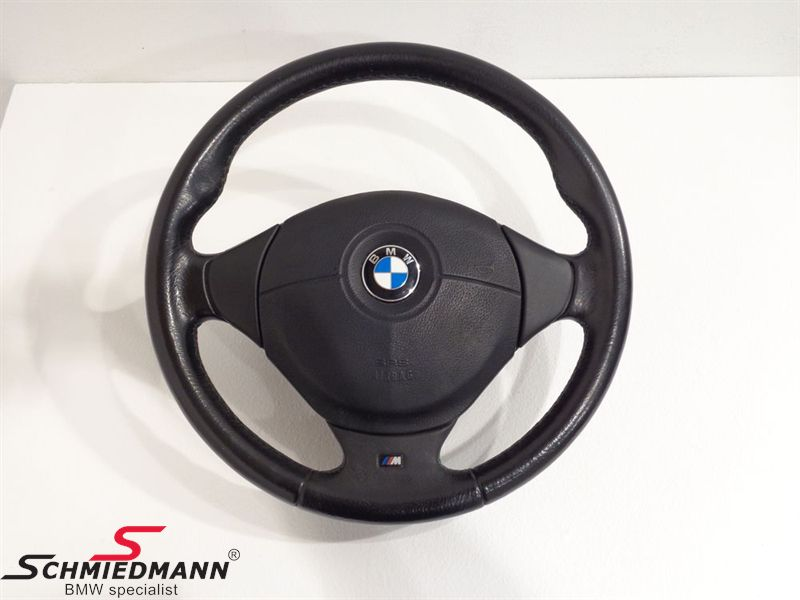 Sport steering wheel leather M-Technic inclusive airbag D=385MM