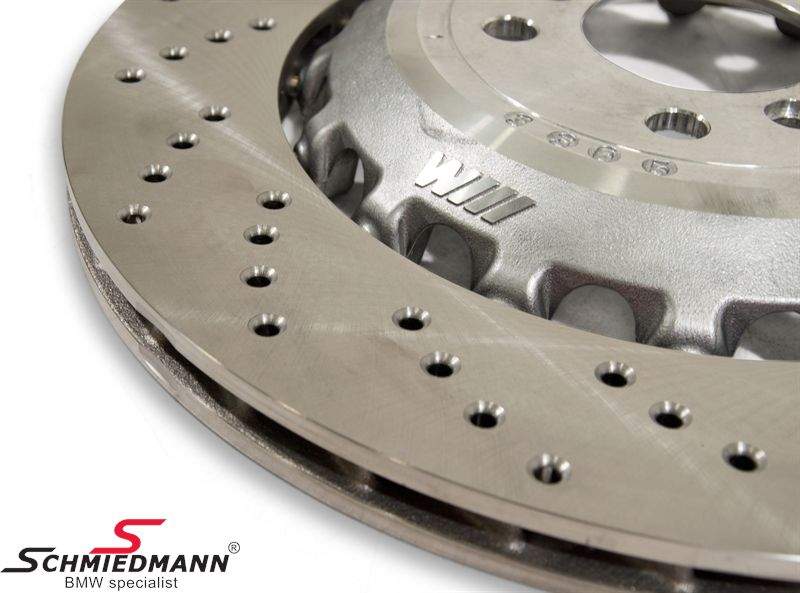 Brake discs R.-side rear ventilated 396X24MM, (Please note: price per pcs, original brake discs are sold per pcs and NOT per set)