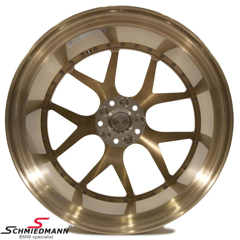 "21"" BC Forged Wheels -HB05- forged 2 piece fälg 11x21 ET35, Royal Gold (you can choose color) (Fits only bak)"