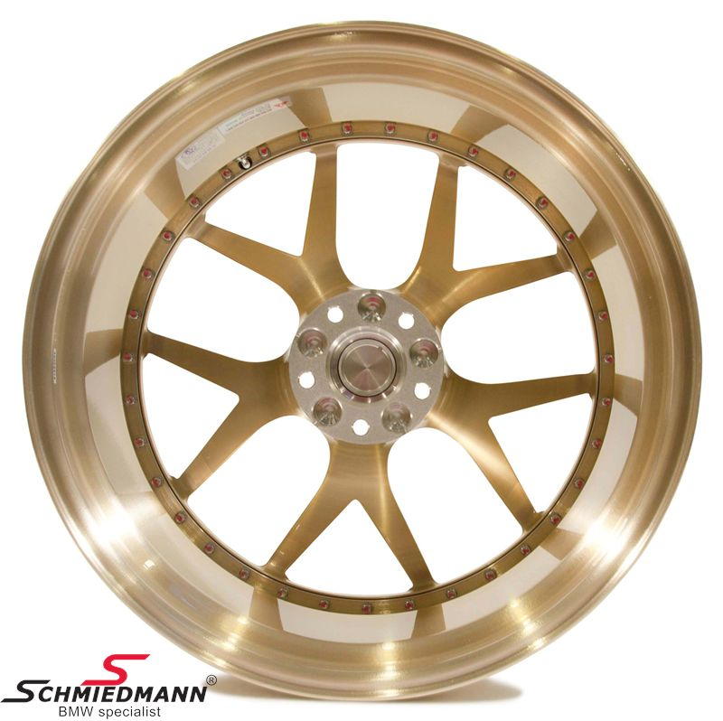 "21"" BC Forged Wheels -HB05- forged 2 piece fälg 9,5x21 ET25, Royal Gold (you can choose color)"