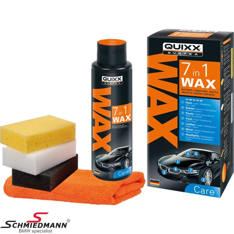 Quixx – 7-in-1 Wax: is seven great products in one!