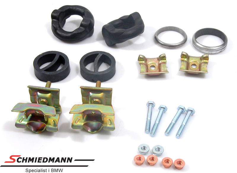 Mounting parts set exhaust M60