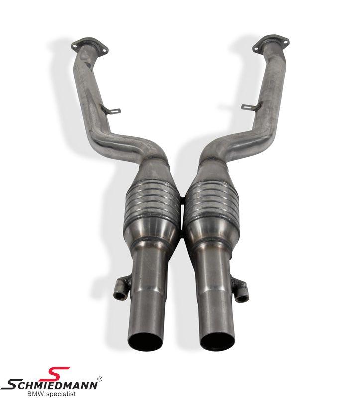 Schmiedmann high flow metal-kat.-system