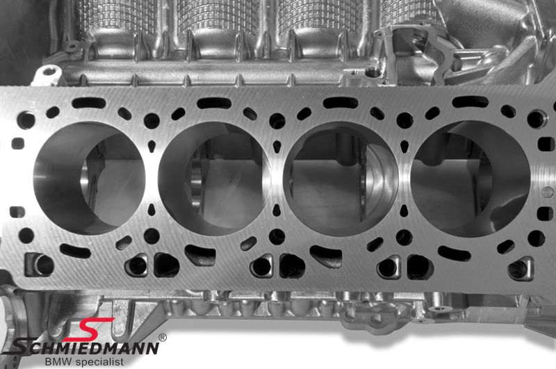 Engine Block With Pistons N63 11112296651 11 11 2 296