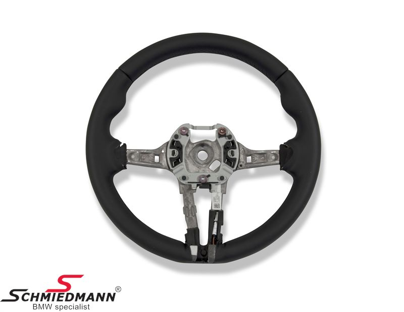 Sport leather steering wheel - original BMW ///M-sport (Airbag not included)