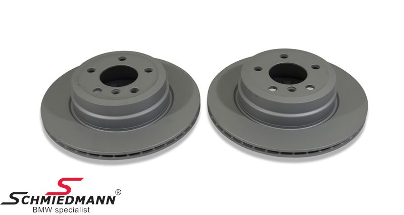 Brake discs rear ventilated 320X20MM, –Original Zimmermann Germany-