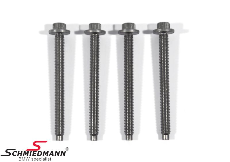 Alternator mounting alu.-bolt set