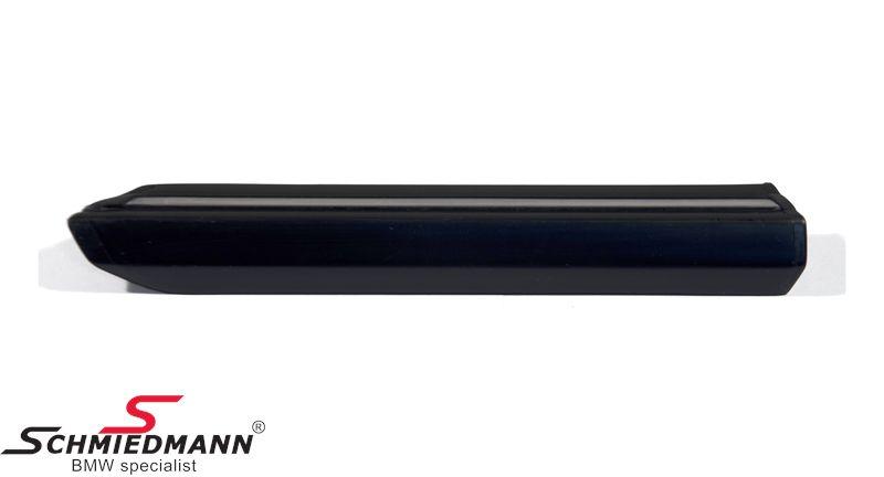 Moulding front fender with chrome insert L.-side