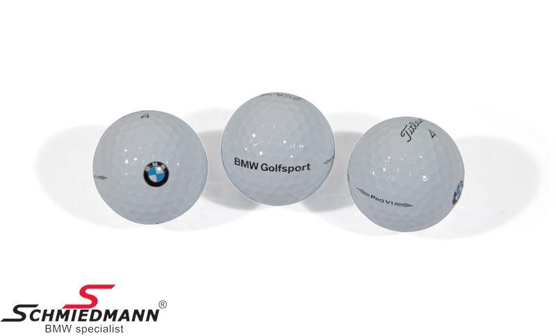 Golfbälle Titleist Pro V1 -BMW Golfsport- (3 stück)