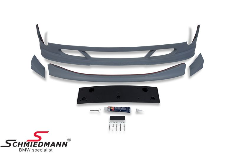 Frontspoiler lip original Alpina type 536, set inclusive trunk lid spoiler type 538