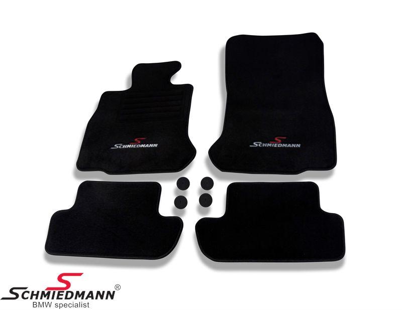 Schmiedmann -Sport Edition- mustat lattiamatot eteen ja taakse