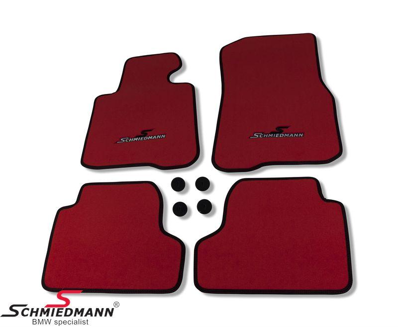 Lattiamatot eteen/taakse Schmiedmann alkuperäiset -Sport EVO - punainen