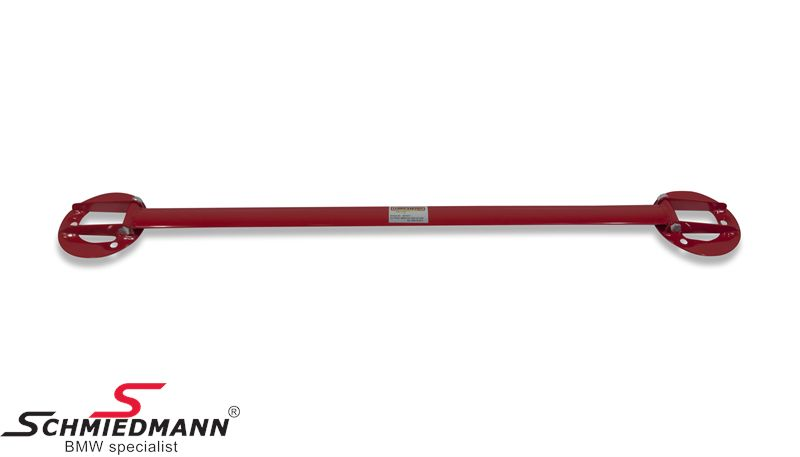 Strut bar -Wiechers Sport- front, painted steel red R3002