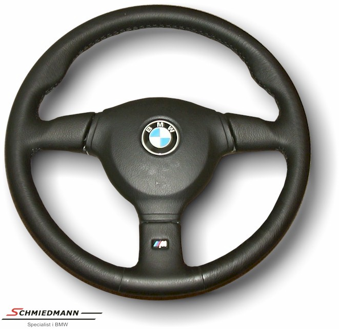 Sport steering wheel leather M-Tech. type 2 D=385MM