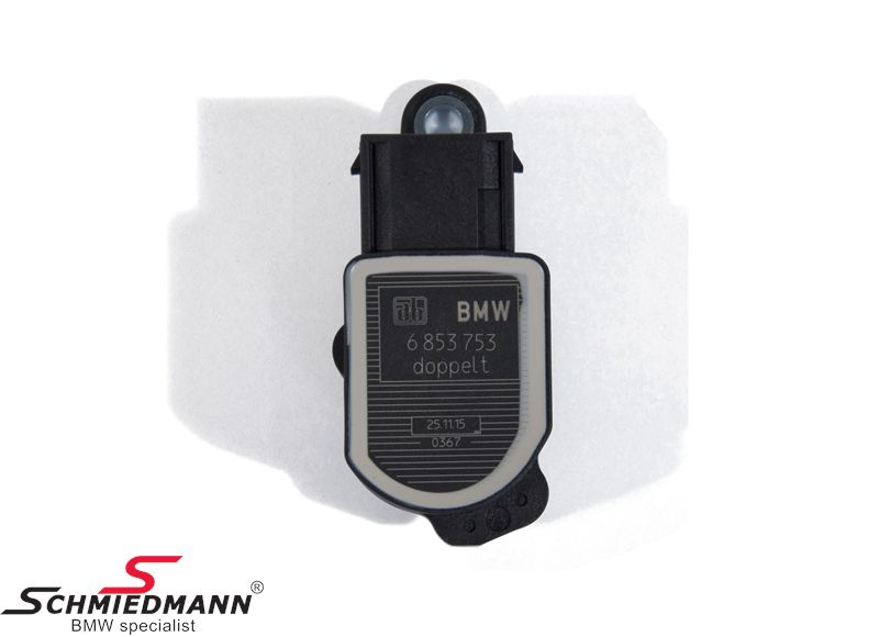 Level sensor (front+rear) for automatic adjustment of xenon light