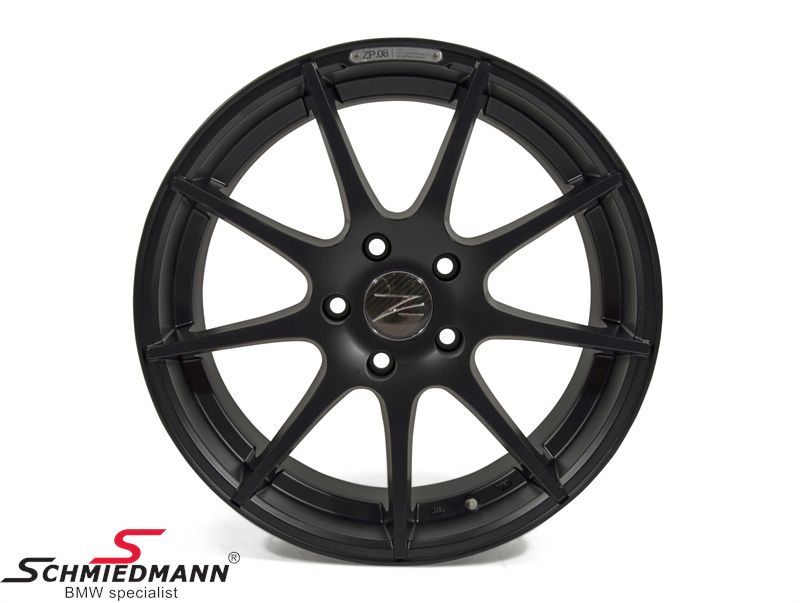 "18"" Z-Performance -Type 8- rim 8x18, Matte Black"