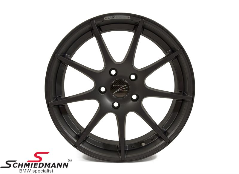 "18"" Z-Performance -Type 8- rim 8x18, Matte Gun Metal"