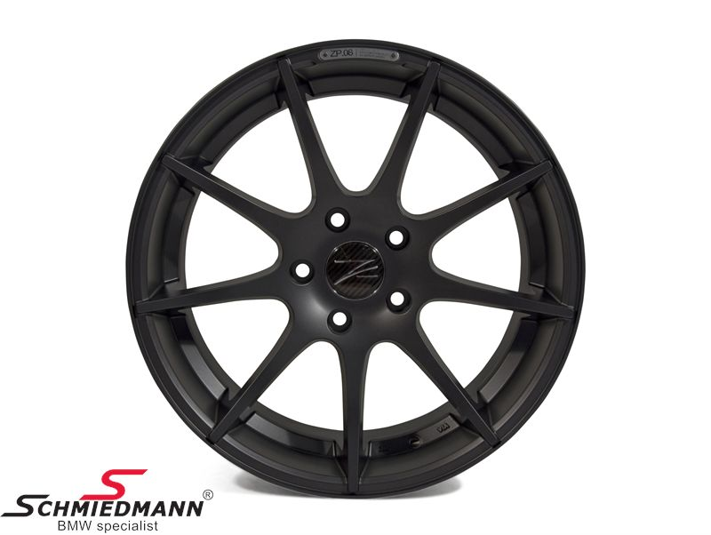 "18"" Z-Performance -Type 8- rim 9x18, Matte Gun Metal (fits only rear)"