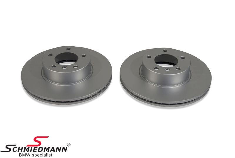 Brake disk 312x24MM ventilated - original Hella