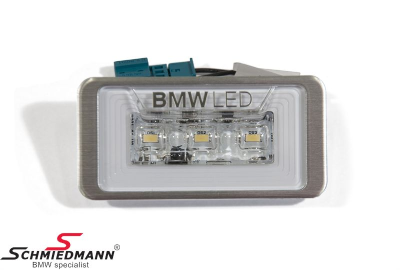 Luggage compartment light LED