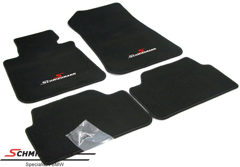 Koberecky prední/zadní originál Schmiedmann -Sport Edition- cerné