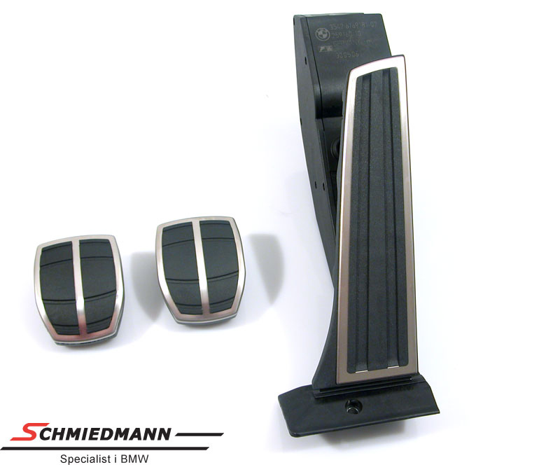 Pedal sæt sport rustfri stål org. BMW
