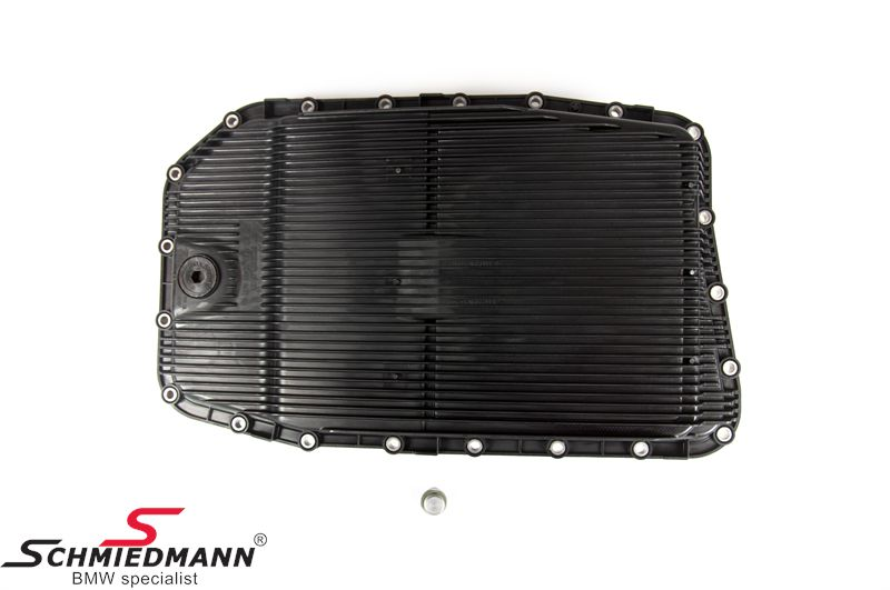 Oilfilter/oil pan for automatic transmission