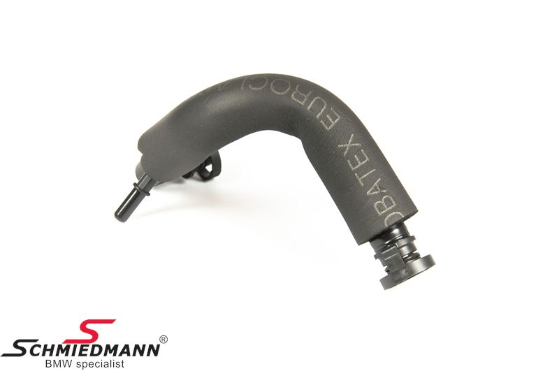 Hose for the crankcase ventilation valve