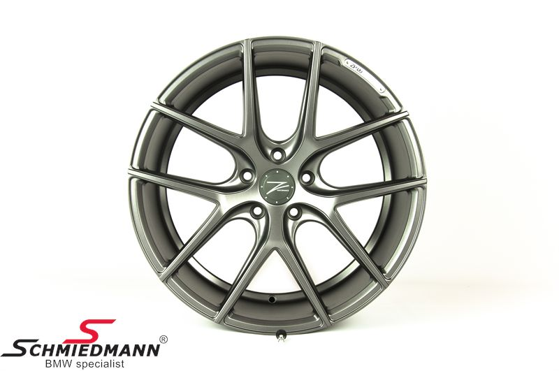 "20"" Z-Performance -Type 9- rim 8,5x20 ET35, Mate Gun Metal"