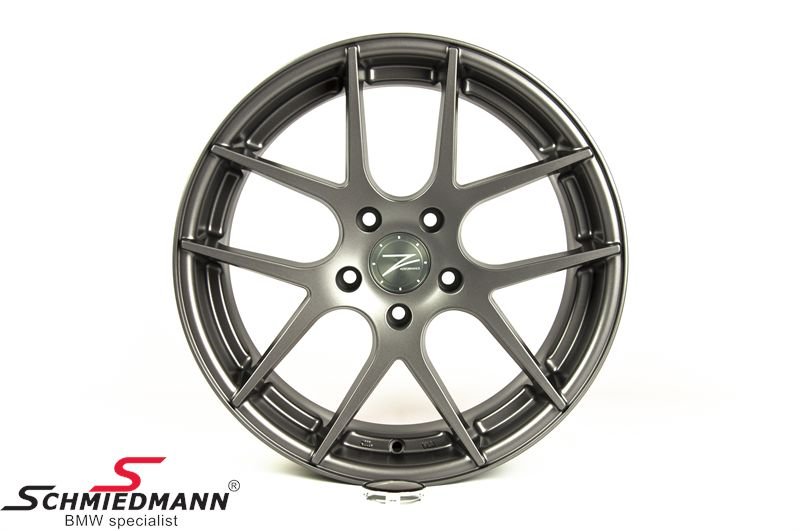 "18"" Z-Performance -Type 7- rim 8x18, Matte Gun Metal"