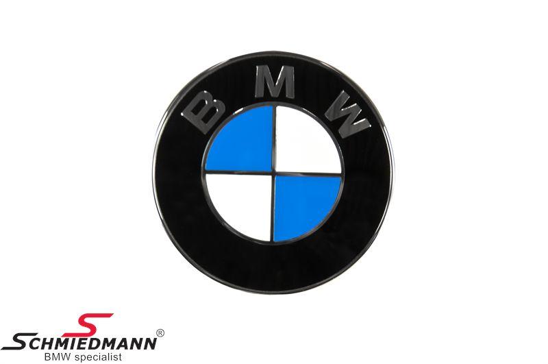 Emblem front bumper BMW 70MM