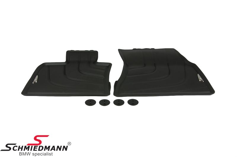 51 47 2 458 439 Floormats Quot All Weather Quot Front Original Bmw
