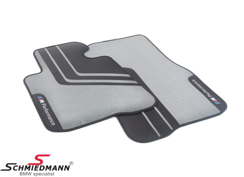 "Floormats ""BMW ///M-Performance"" front, original BMW"